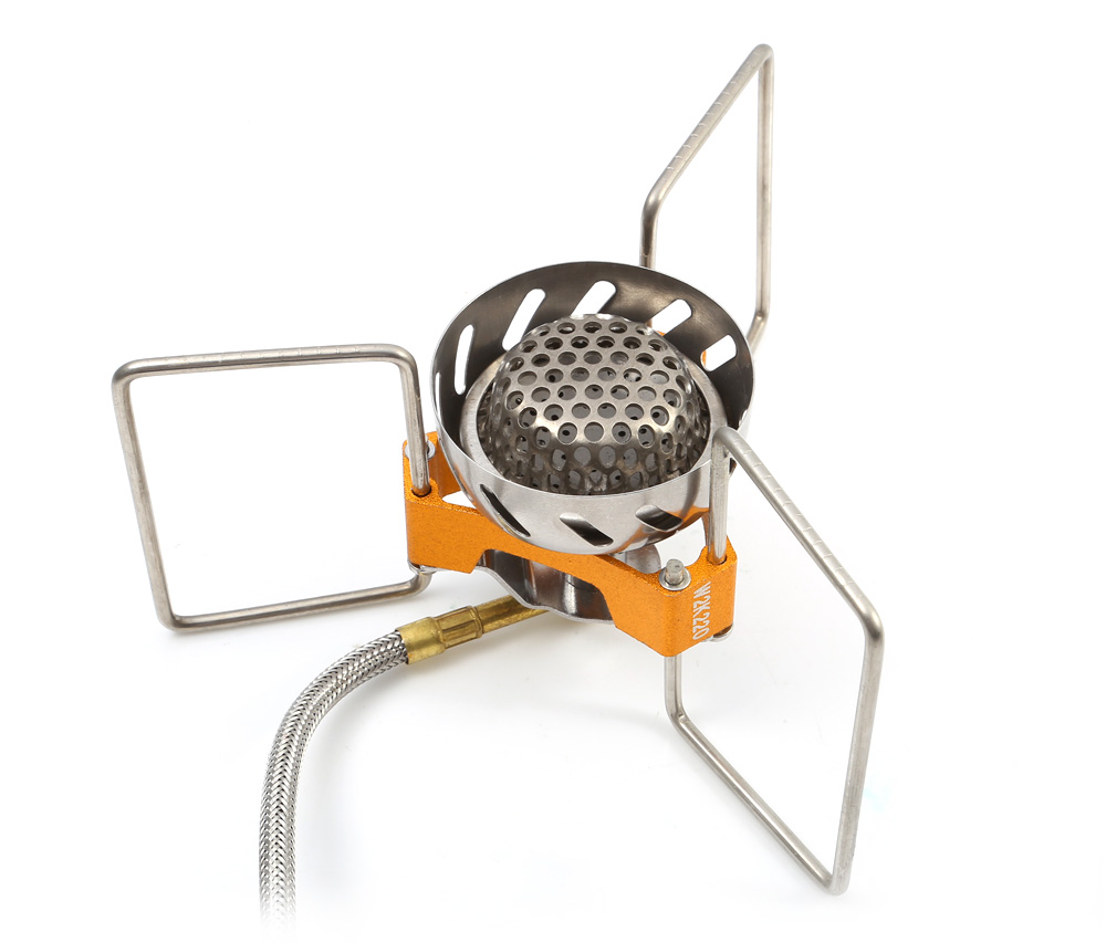 Fire - Maple FMS - 02 Stainless Steel Split Windproof Gas Stove