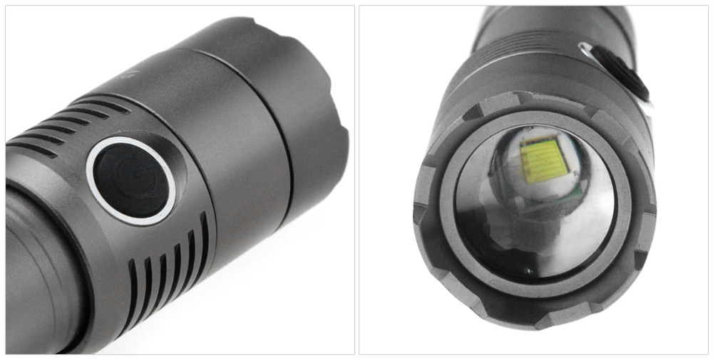 UltraFire CREE XML T6 889LM Zooming 18650 AAA LED Flashlight