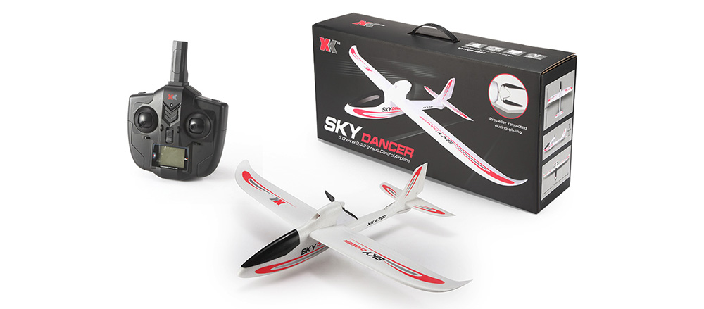 XK A700 - A Sky Dancer 2.4GHz EPO Foam 3CH Fixed-wing Airplane Brushed Motor