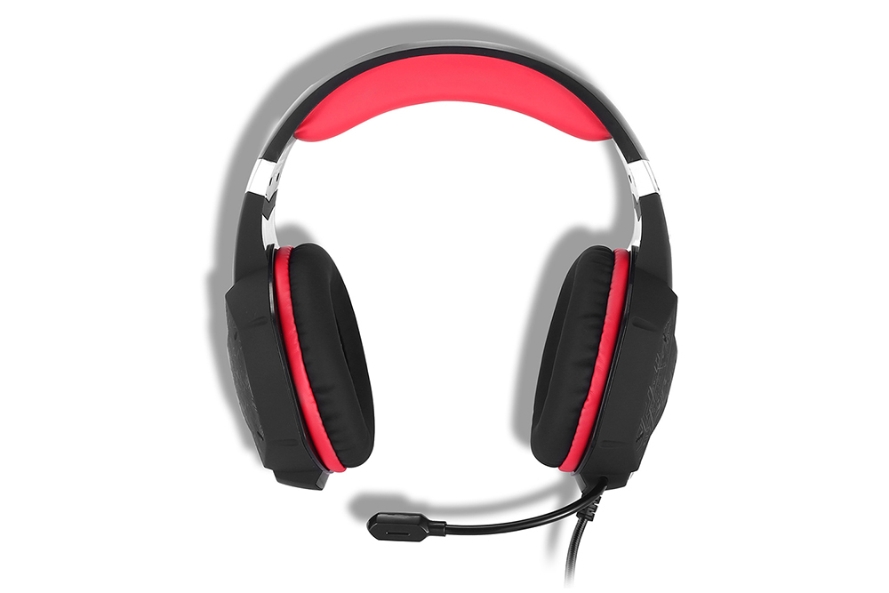 KOTION EACH G1000 Gaming Headsets Headphones with LED Light Microphone Noise Canceling for PC / Laptop