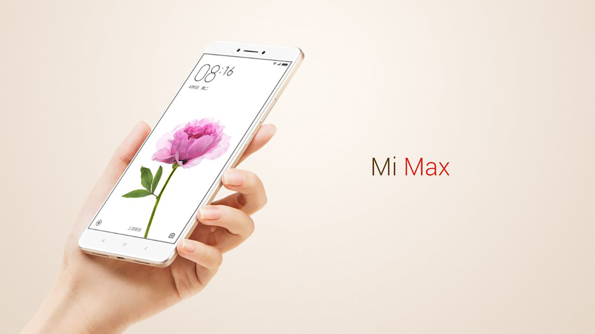 Xiaomi Mi Max 6.44 inch 4G Phablet MIUI 8 Qualcomm Snapdragon 652 64bit Octa Core 1.8GHz Fingerprint Sensor 3GB RAM 64GB ROM 16.0MP + 5.0MP 4850mAh 2.5D Arc Glass Screen Infrared