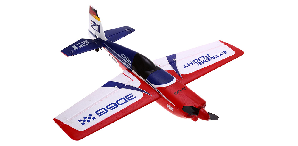 XK A430 2.4GHz 5CH Brushless Remote Control Airplane EPS Compatible FUTABA