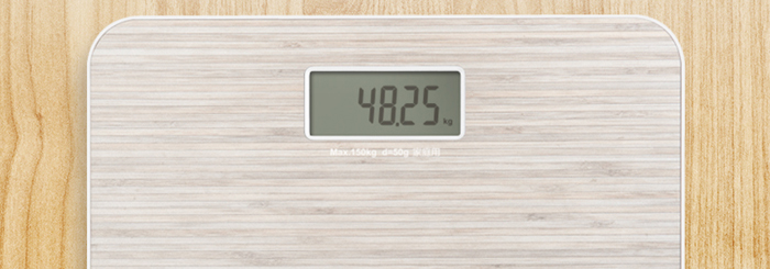 YESHM YHB1447 Wooden Grain Shape Precision Electronic Body Fat Weight Scales LCD Display Weighing Tool