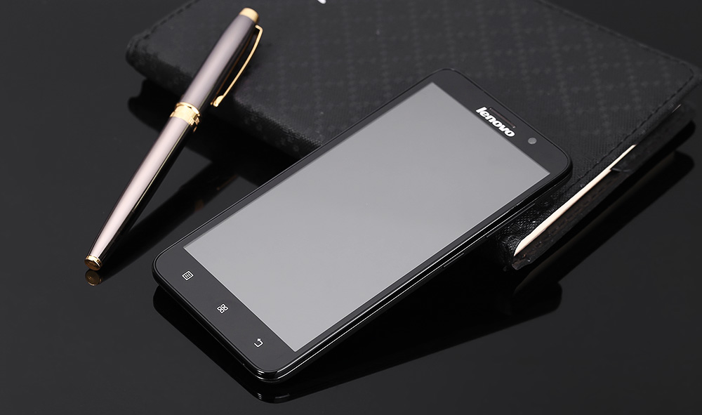 Lenovo A850+ Android 4.2 5.5 inch 3G Phablet MTK6592M Octa core 1.4GHz 1GB RAM 4GB ROM Bluetooth 4.0 Gravity Sensor GPS