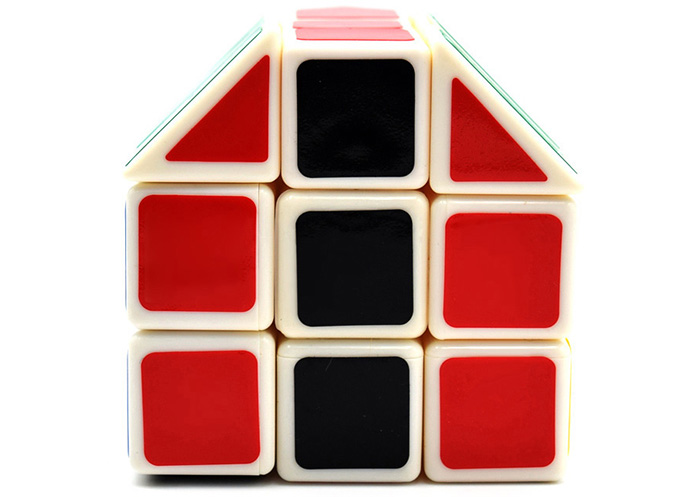 DECAKER 3 Layer Magic Cube Irregular House Shape Brain Teaser