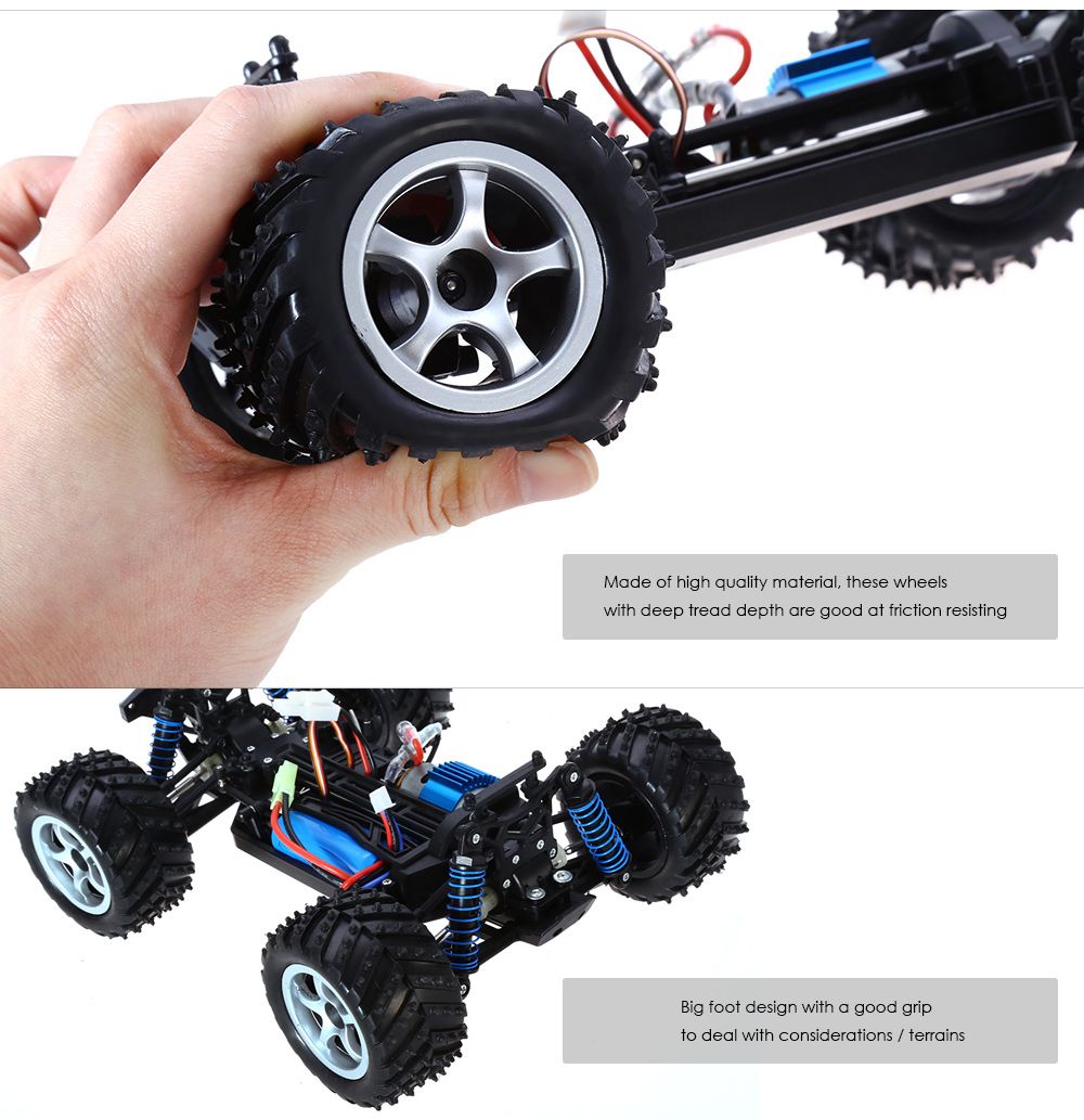 LBtoys LB85 1 / 18 Full Scale 4WD 2.4GHz High Speed Remote Control Car RTR