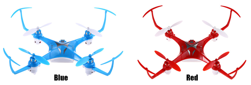 Attop A1 2.4G 4CH 6-Axis Gyro RTF Remote Control Quadcopter 180 / 360 Degree Flips Drone Toy