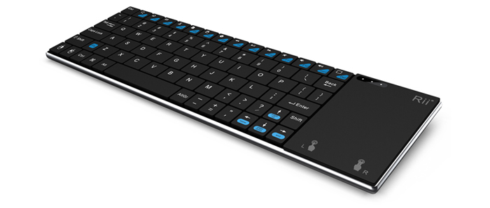 Rii i12 Wireless 2.4G Keyboard QWERTY Touchpad for Android TV Box