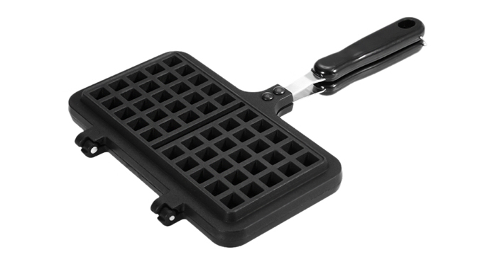 Aluminum Alloy Waffles Mold Baking Pan Non-stick Cookies Cake Breakfast Bakeware Tools