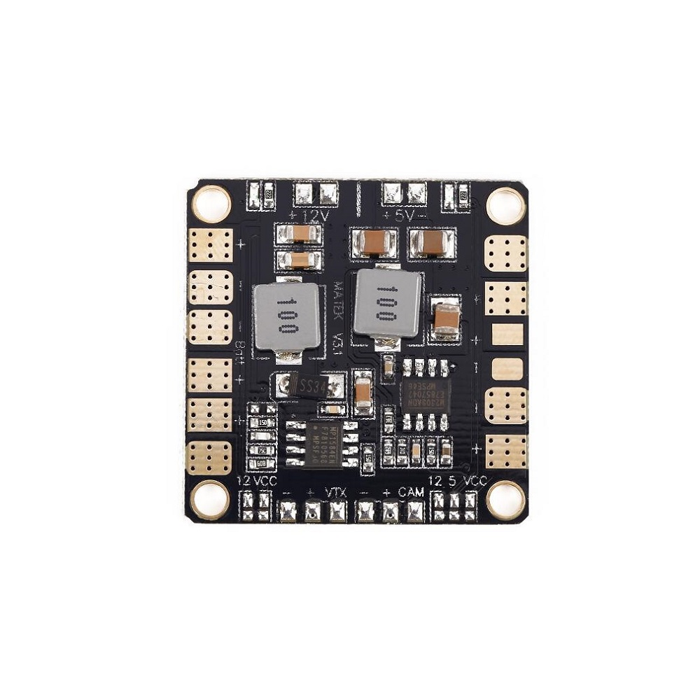 Matek Two-way BEC 5V 12V 4-layer PCB PDB for FPV250 H250 Racer