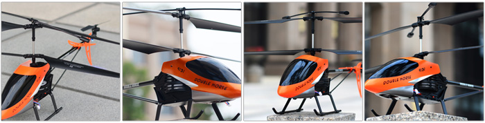 SHUANGMA No. 9131 2.4GHz Twin-blade 3.5 Channel Helicopter
