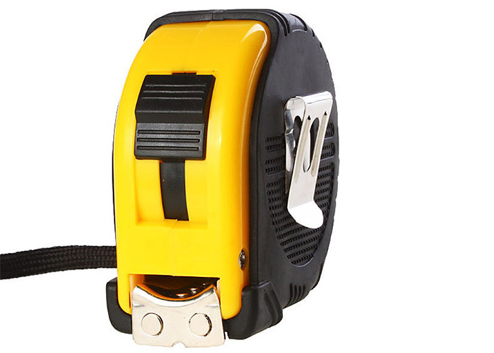 Deli 7.5m Retractable Tape Measure with Turning Back Case