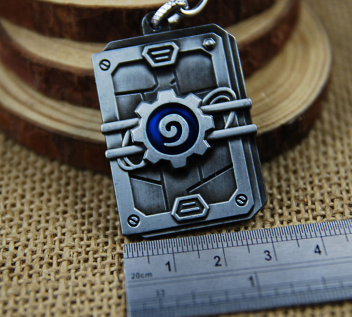 Key Chain Hanging Pendant Alloy Keyring Online Video Game Toy for Bag Decoration