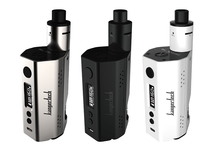 Original Kanger Dripbox TC Mod Kit with 7 - 160W / 200 - 600F / 7ml Rebuildable Tank Atomizer for E Cigarette