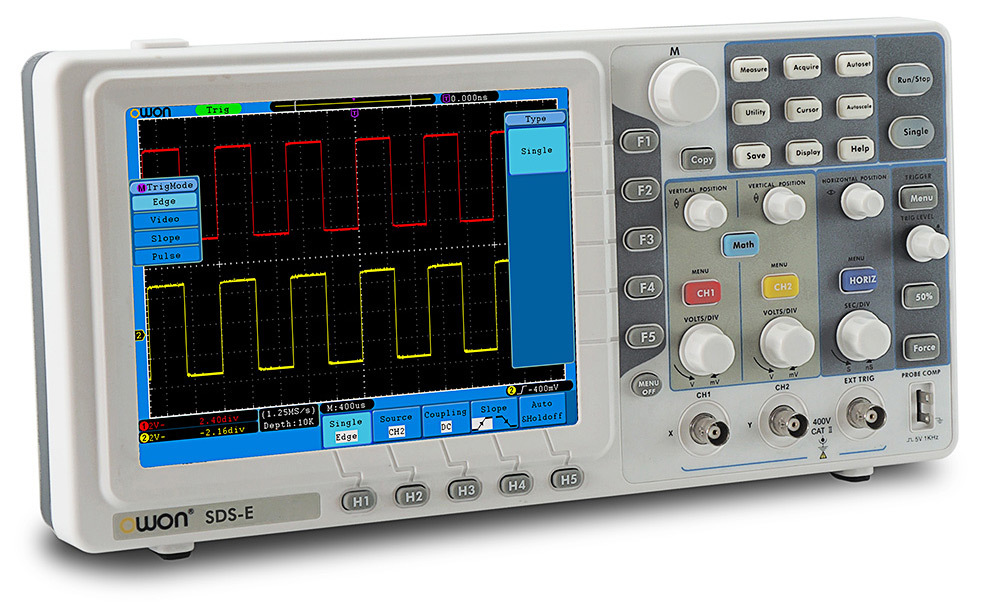 OWON SDS - E Second Generation Economical Type Digital Storage Oscilloscope 60MHz