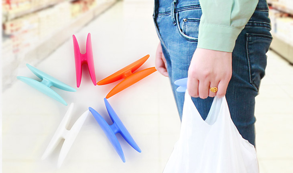 I Shaped Shopping Bag Lifting Tool Multi-functional Food Container Holder Hook