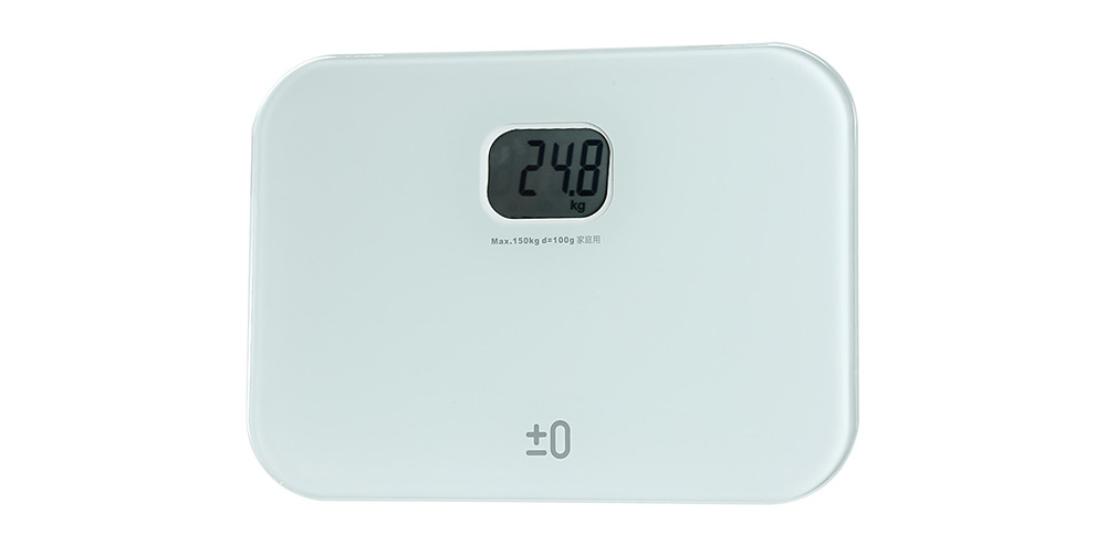 YESHM YHB1547 - WH1 Portable Precision Body Fat Scales Mini LCD Electronic Personal Weighing Tool