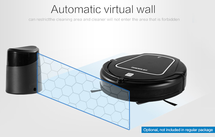 Seebest D730 MOMO 2.0 Smart Robotic Vacuum Cleaner Cordless  Auto Water Tank Mopping Machine Self-charge Function