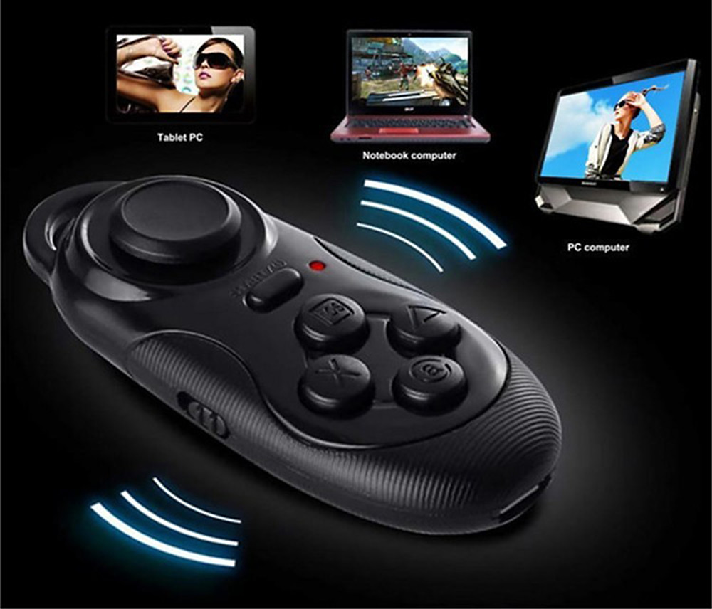 Universal Multi-function Bluetooth 3.0 Wireless Game Pad Remote Controller / Shutter / Mouse for Android iOS