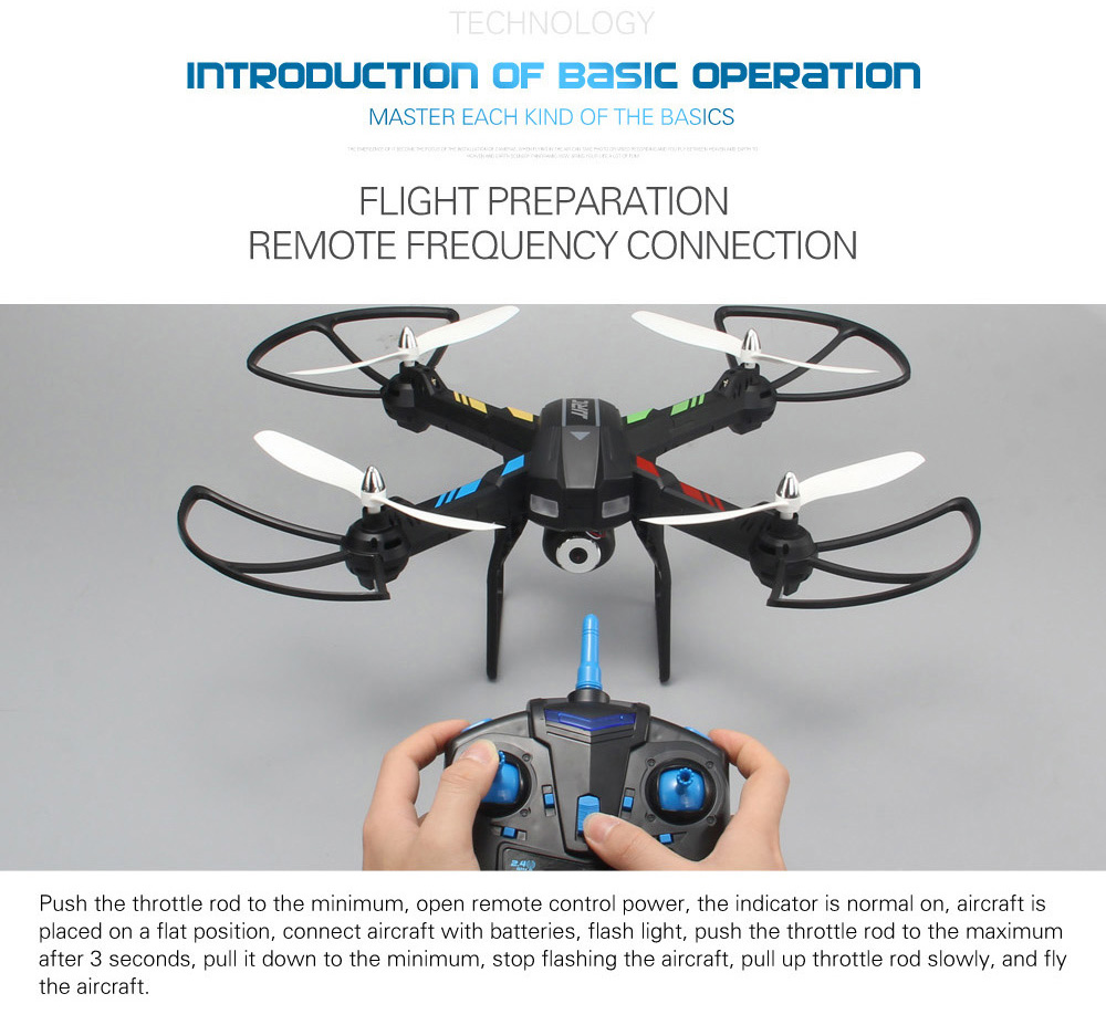 JJRC H28WH WiFi FPV 2.4GHz 4CH 6 Axis Gyro Air Pressure Altitude Hold RC Quadcopter RTF