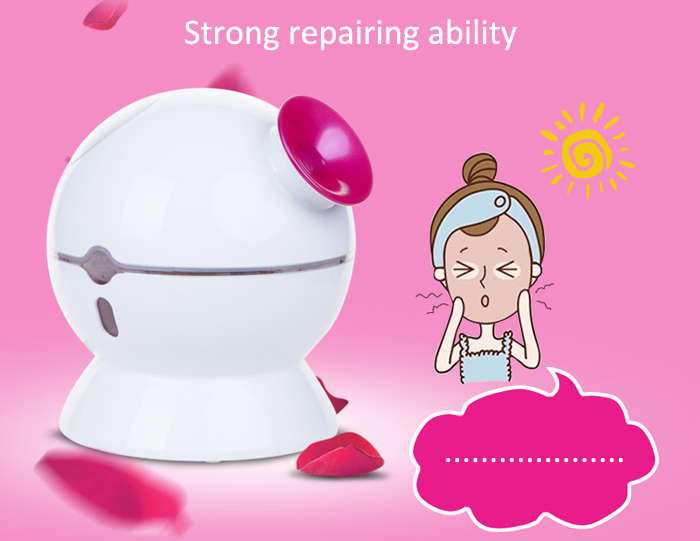 KingDom KD - 2331 - 3 Hot Cold Ionic Facial Steamer Home Spa Face Skin Care Moisture