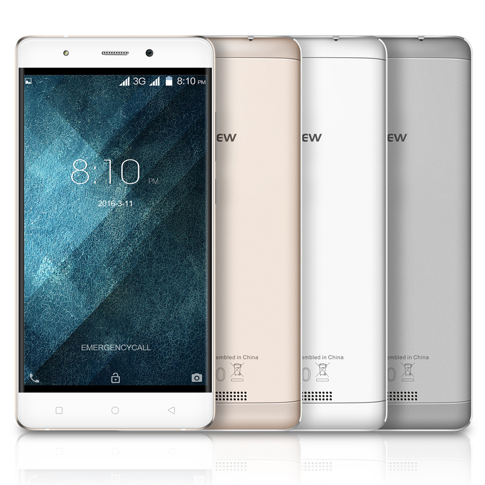 Blackview A8 5.0 inch 3G Smartphone Android 6.0 MTK6580 Quad Core 1.3GHz 1GB RAM 8GB ROM GPS WiFi Cameras GPS