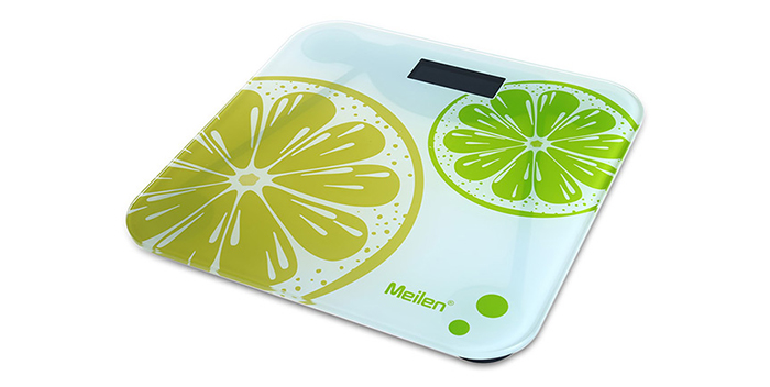 MEILEN MT801 Portable Precision Body Fat Scales LCD Electronic Temperature Display