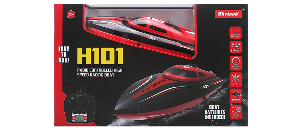 Skytech H101 2.4GHz 4 Channel High Speed Boat with LCD Screen