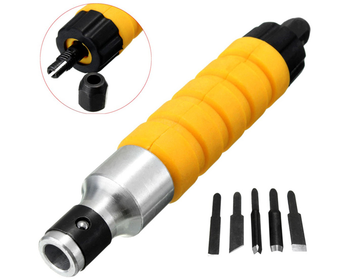 Woodworking Engraving Chisel Electric Carving Machine Tool