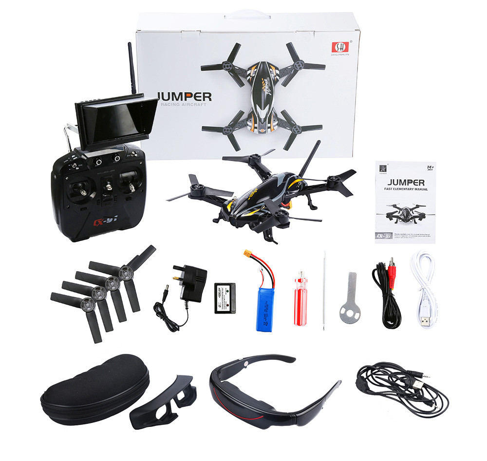 Cheerson SANLIANHUAN CX - 91B 5.8G FPV VR Goggles Jumper HD Camera 2.4G 6 Channel 6 Axis Gyro Quadcopter