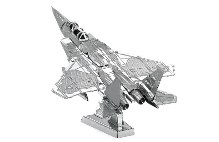 ZOYO Fighter Style Metallic Building Puzzle 3D Educational DIY Assembling Toy