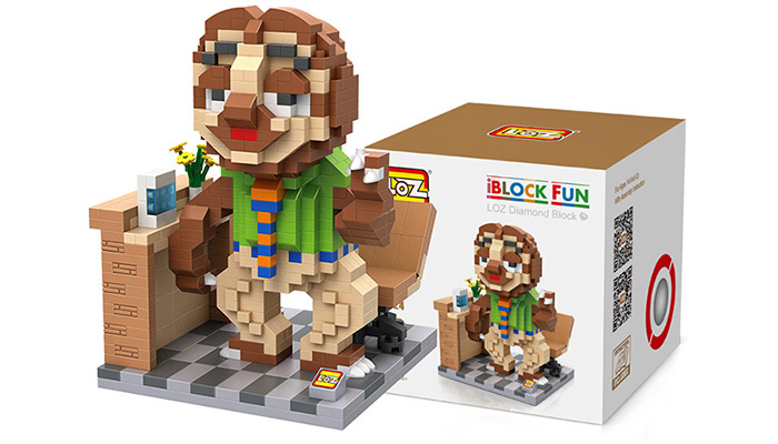 LOZ ABS Animal Image Building Block Educational Cartoon Movie Product Kid Toy - 690Pcs
