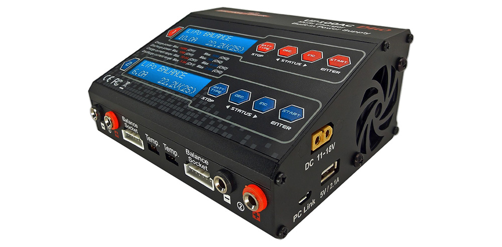 Ultra Power UP100AC DUO  Max. 100W Balance Charger for Battery