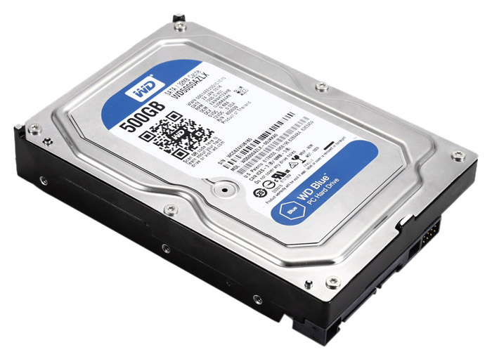 WD 500GB HDD SATA 32MB for PC