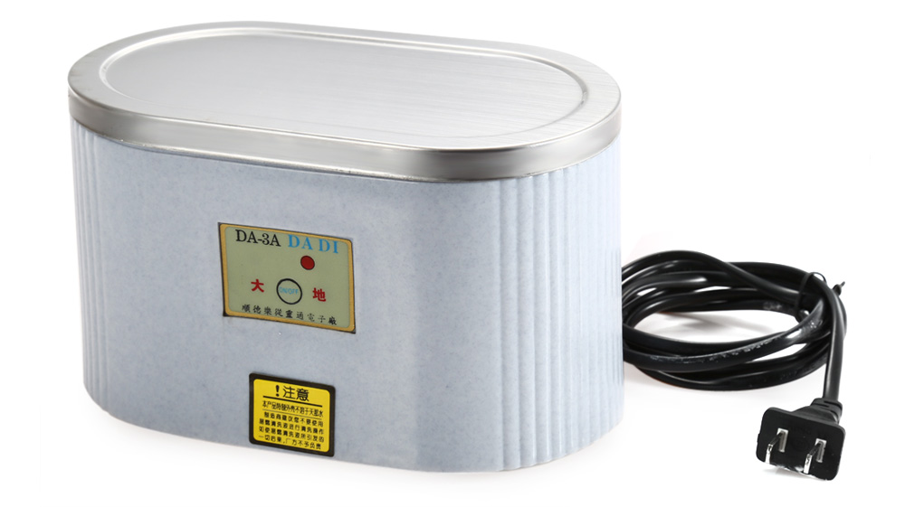 DA - 3A Ultrasonic Cleaner Timing Function Professional Cleaning Machine for Glasses / Jewelry / Watch
