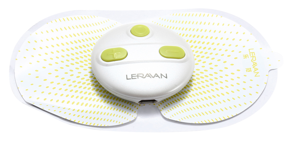 LERAVAN Magic Touch Sticker Sport Version 5 Massager Modes APP Control Electronic Pulse Massage Machine