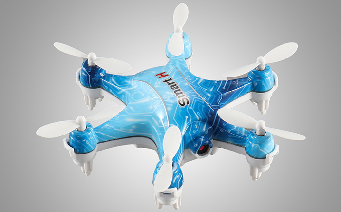 Cheerson CX - 37WD - TX Smart H 3D Rollover 2.4G WiFi FPV 6-axis-gyro Height Hold Mini Hexacopter with 0.3MP CAM