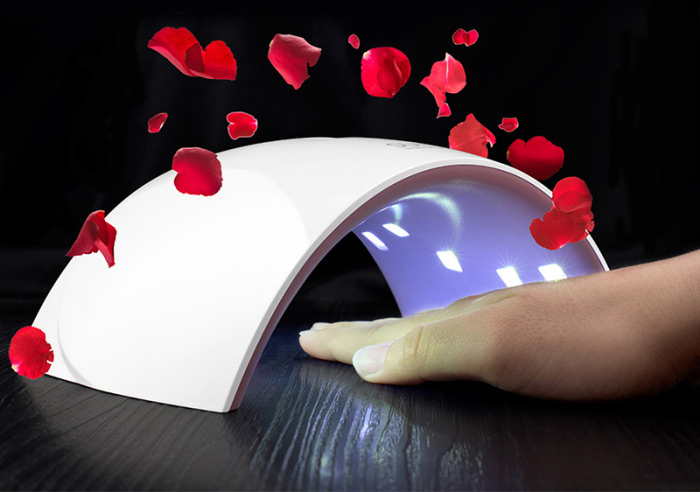 SUN9S LED UV Nail Lamp Manicure Fingernail Quick-dry Phototherapy Machine - 5V / 2A Power Bank Charging Version