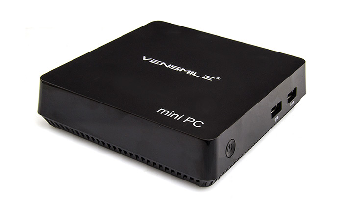 Vensmile i9 Mini PC Intel Z8300 Quad-core 64Bit Windows 10 4K Streaming Media Player Support WiFi Bluetooth Connectivity