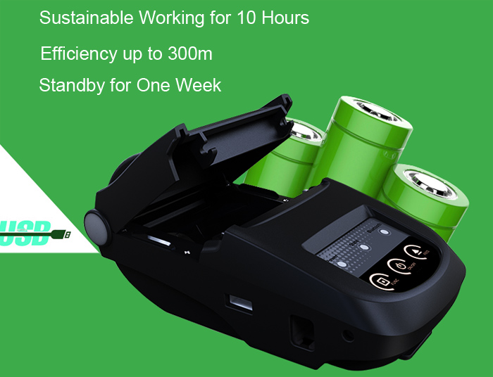 NP100 Portable Bluetooth Thermal Printer 58mm with Micro USB Interface