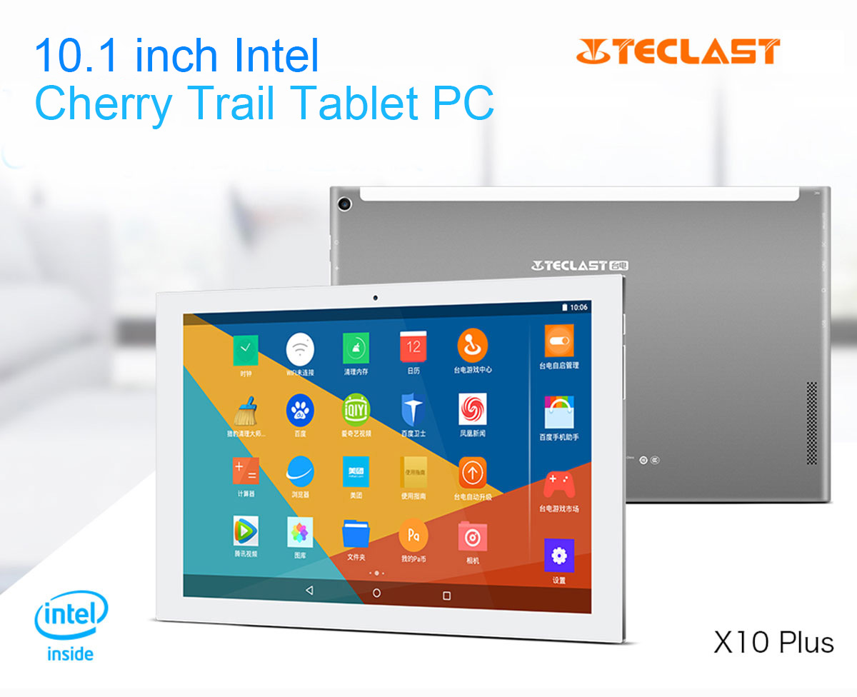 Telcast X10 Plus 2-in-1 Tablet PC image