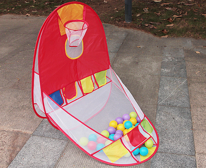 Basketball Pool Tent Backboard Outdoor Indoor Sport Kid Child Toy