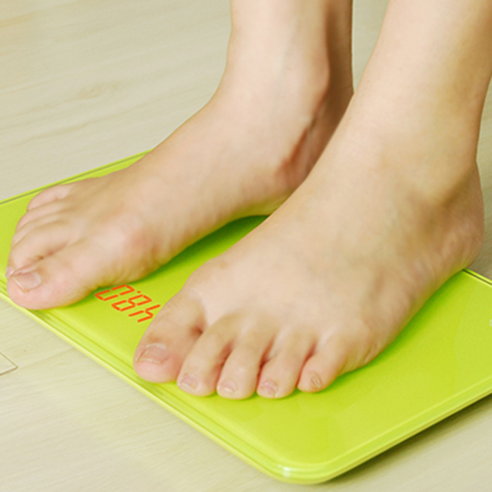 YESHM YHB1208 Portable Personal Scales LCD Electronic Precision Body Fat Weighing Tool