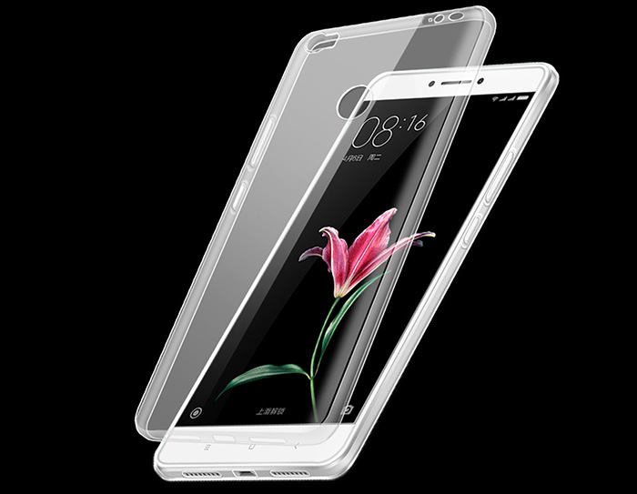 Transparent TPU Soft Case for Xiaomi Max Ultra Thin Phone Protector
