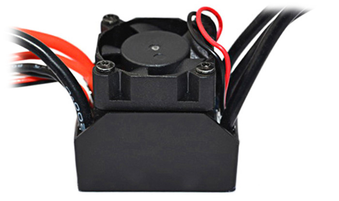 Surpass 45A Water-proof Brushless ESC for 1 / 10 and 1 / 12 RC Car
