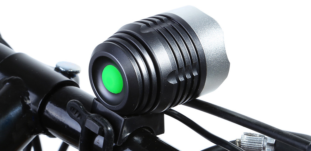 DECAKER Multi-function 15W 1200Lm 4 Mode XML T6 3 LED Bicycle Light Flashlight