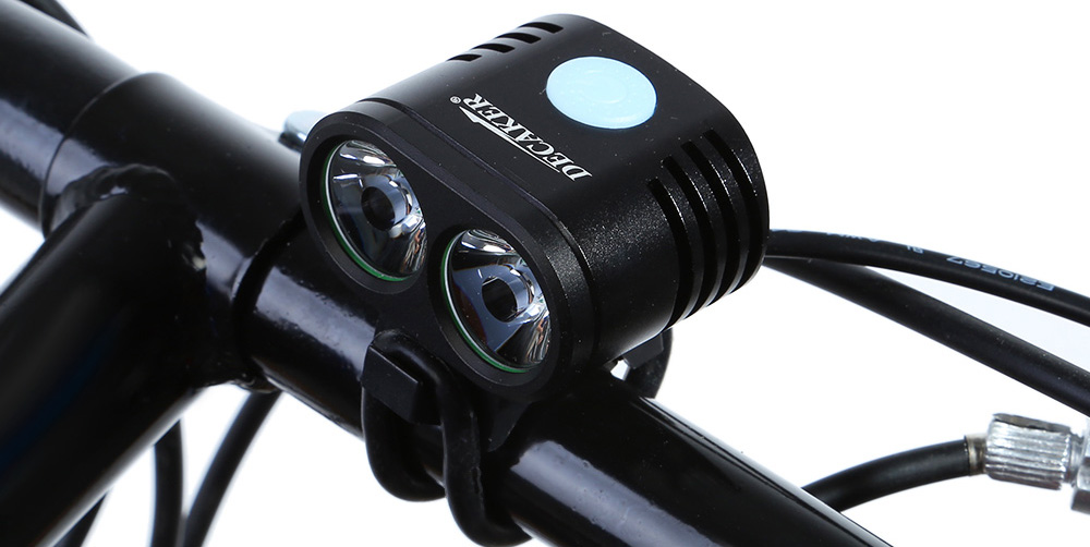DECAKER 5 Modes 1200Lm XML - T6 2 LED 10W Bicycle Light