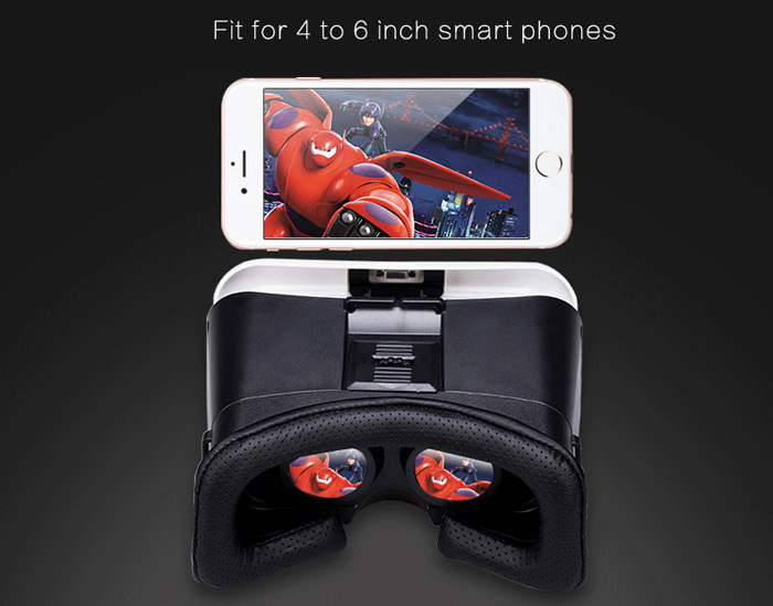VR PARK III 3D VR Glasses Virtual Reality Headset Private Theater Game Video for 4.0 - 6.0 inch Smartphone