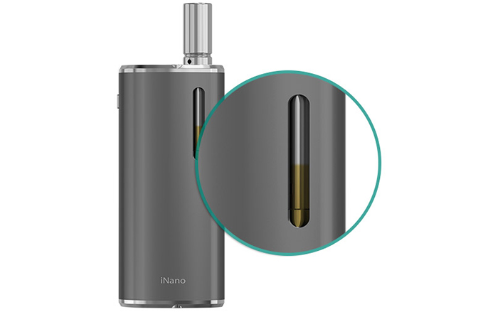 Original Eleaf iNano 650mAh Battery Mod with Stainless Steel Construction for E Cigarette
