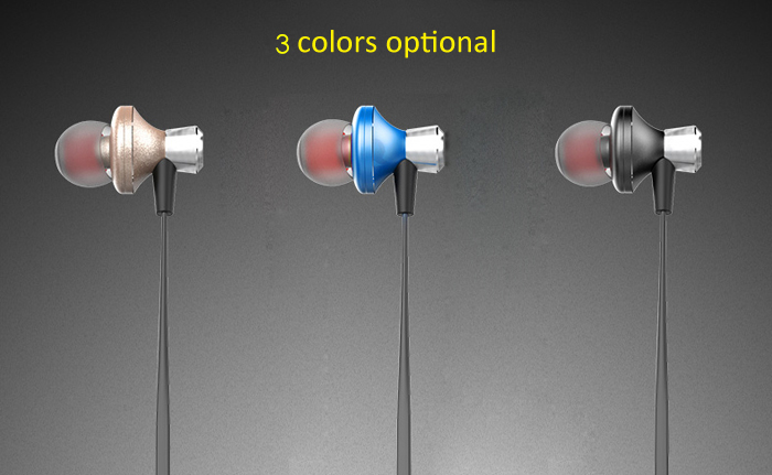 Awei A860BL Bluetooth Sport Earbuds with Mic On-cord Control Noise Cancelling